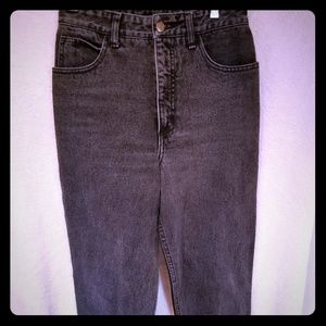 Vintage Guess Jeans tapered zippered legs classic
